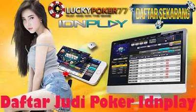 Daftar Judi Poker Idnplay