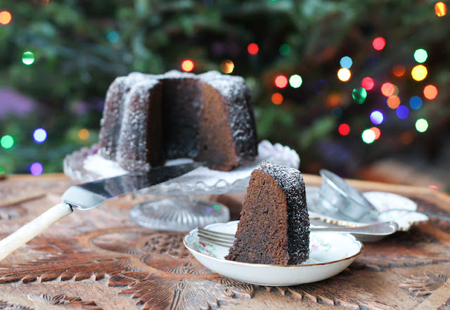 Food Lust People Love: Add depth of flavor and warmth to spicy gingerbread Bundt with Guinness stout, fresh ginger and cayenne, along with all the usual spices like ginger, cinnamon, cloves and nutmeg. This mini Bundt makes the perfect dessert for your holiday meal or a welcome snack.