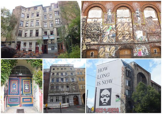 edificios abandonados del mitte en berlín