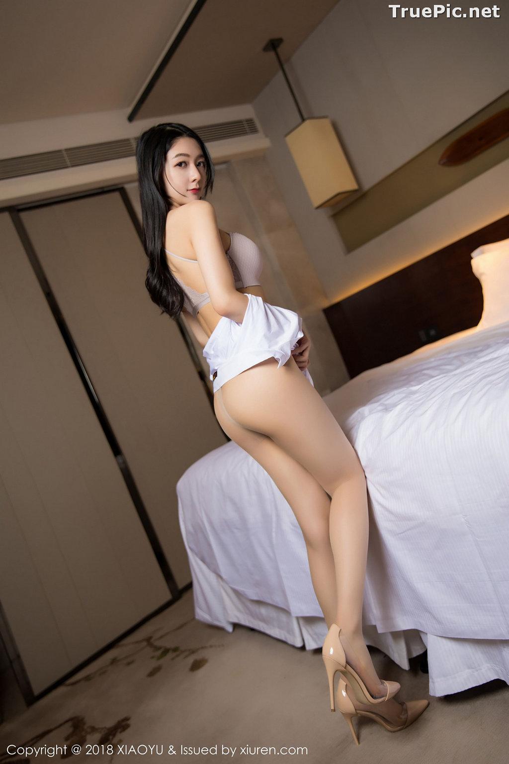 Image XiaoYu No.004 - Chinese Model - Xiao Reba (Angela喜欢猫) - White Sexy Nurse - TruePic.net - Picture-33