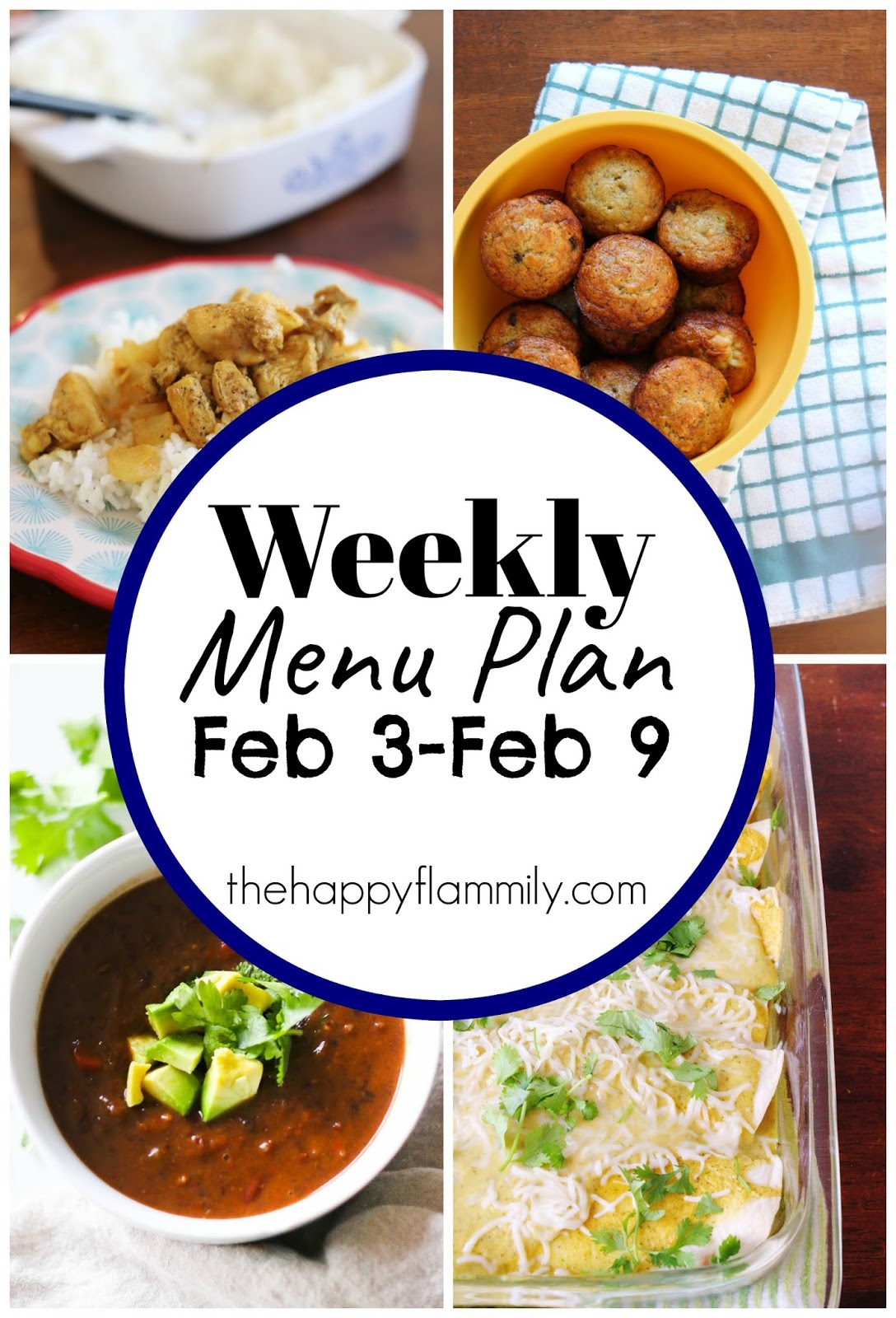 If you're in the need for a simple family menu plan for a family on a budget, we have you covered. Come and enjoy breakfast, lunch, and dinner options with our free weekly family menu plan.