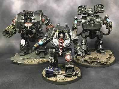 Dark Angels Legion Dreadnoughts - 262Krieg