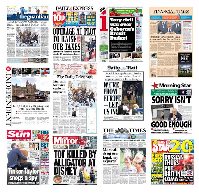front pages 16-06-16