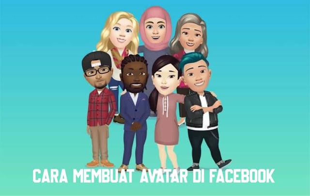 Cara Membuat Avatar Di Facebook (FB)