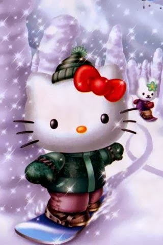 Download Wallpaper Hello Kitty 3d Cute Wallpapers For Mobile Mobile Wallpapers