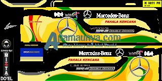 Download livery bus Pahala Kencana Legacy SR2 DD