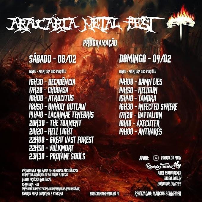"""Sons Que Não Podem Ficar De Fora: """"Araucária Metal Fest 2020"""" - Parte 02"""