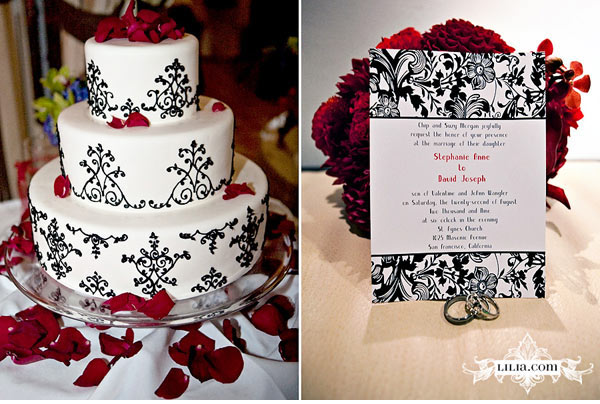 wedding ideas for red black and white black and white wedding with accents wedding fashion 27865