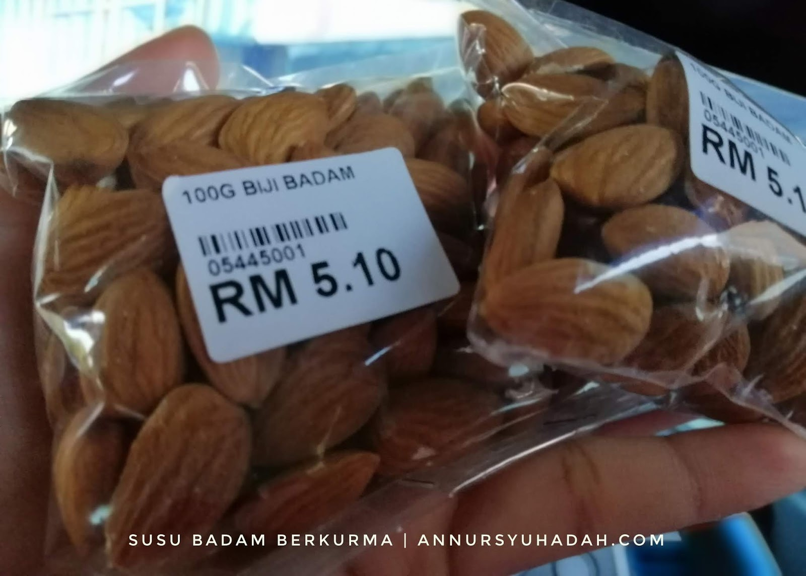 Menu Sahur Ibu Menyusu | Susu menu-sahur-ibu-menyusu-susu-kurma-badam-resepi-susu-badam, Kurma Badam, susu badam homemade, almond milk recipe, how to make almond milk, resepi susu badam, resep susu almond