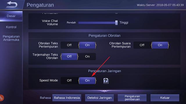 Cara Agar Jaringan di Mobile Legend Stabil 9