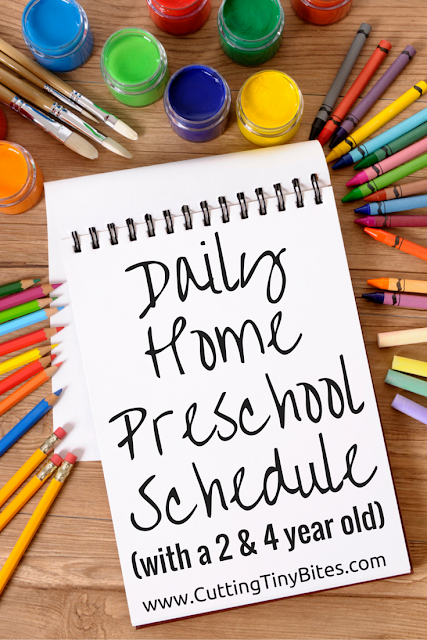 Home Preschool Schedule | What Can We Do With Paper And Glue