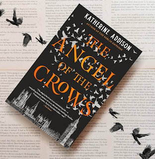The Angel of the Crows by Katherine Addison cover image