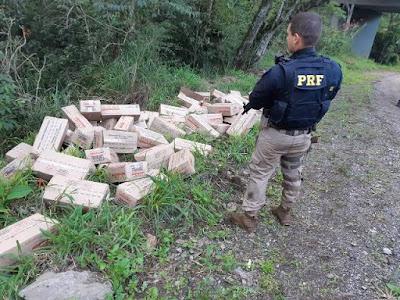 PRF prende dois ladrões de carga em Cajati