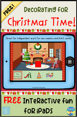 Have fun decorating for Christmas with this free interactive game for iPads.
