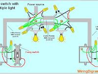 3 Way Light Switch Diagram