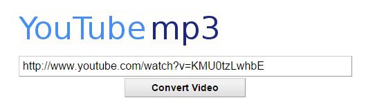 conversor online youtube mp3