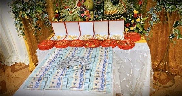 Toàn bộ số tiền và quà hồi môn của người chị gái tặng em (ảnh internet)