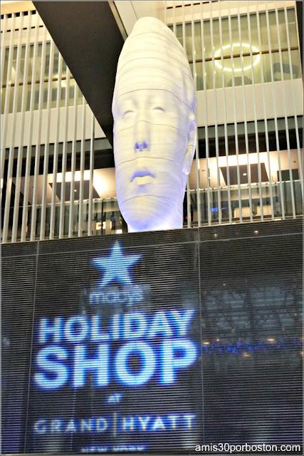 Escultura de Jaume Plensa en el Hotel Grand Hyatt de Nueva York