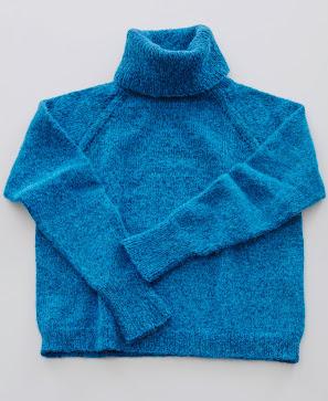 Rollkragen Pullover aus der schweizer Landliebe