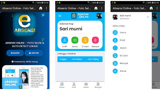 SC APK Absensi Online Android