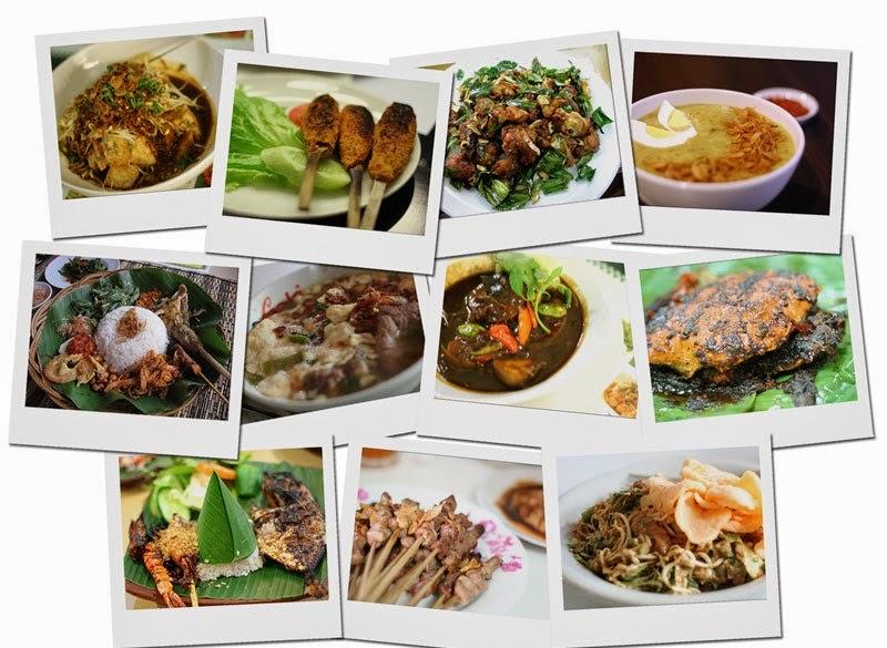 Wisata Kuliner Tempat Makan Enak di Jakarta Harga 20 - 50 Ribuan