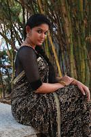 Tamil Actress Sri Priyanka Pos in Saree at Pichuva Kaththi Tamil Movie Audio Launch  0010.jpg