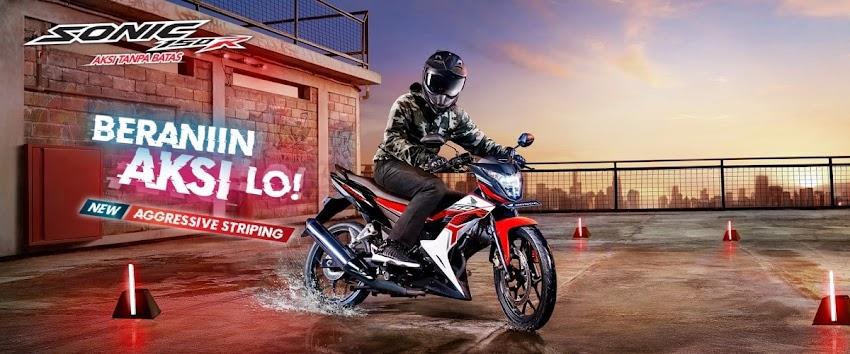 Promo Kredit Harga HONDA SONIC 150R STANDARD Dealer Honda Sejahtera Mulia Cirebon