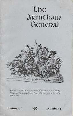 Good ... Issue Of THE ARMCHAIR GENERAL. This Was The First U0027over The Counteru0027  Wargame Magazine Produced In The US And It Was Published By The Late Pat  Condray.