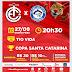 Copa SC: ingressos a R$ 20 e R$ 10 para Inter x Atlético Tubarão