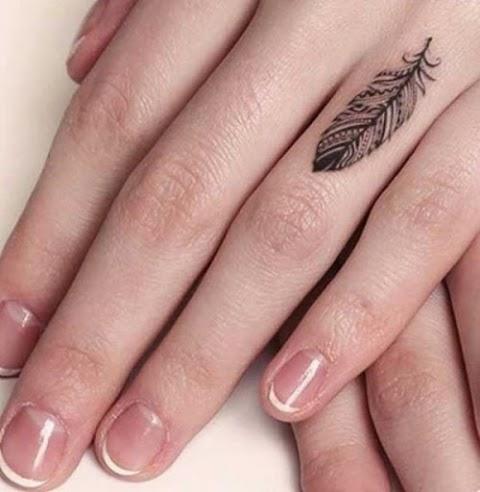 En Yeni Parmak Dövme Modelleri
