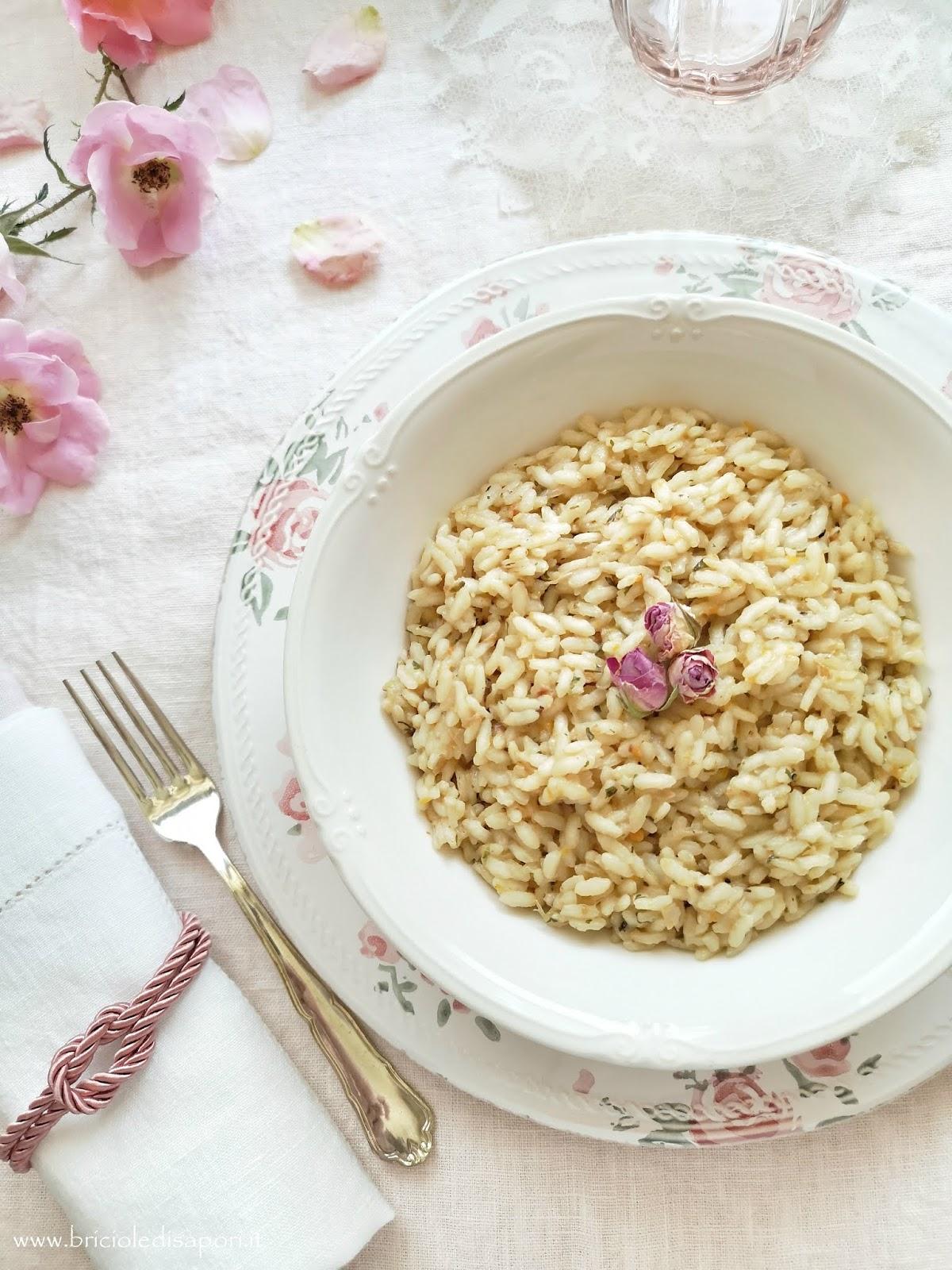 preparato per risotto alle rose