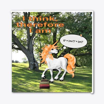 I think, therefore I am - Unicorn Philosopher