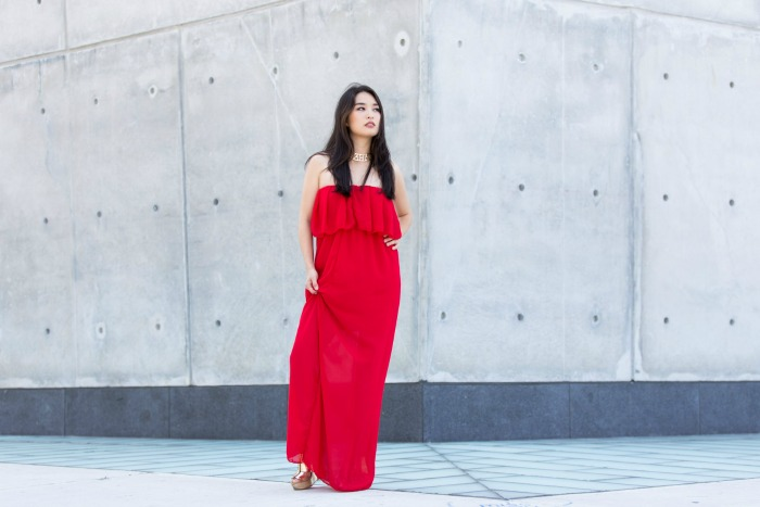 stunning red maxis