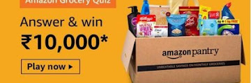 Amazon Grocery Quiz - What course is the female protagonist in the video pursuing?