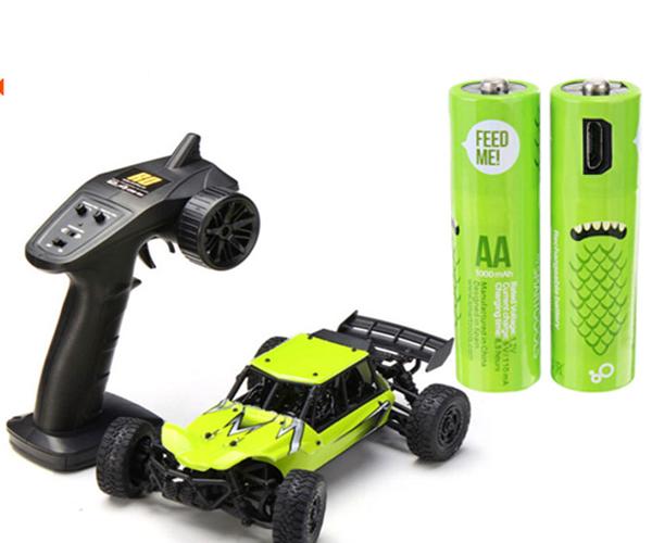 recharge baterai AAA