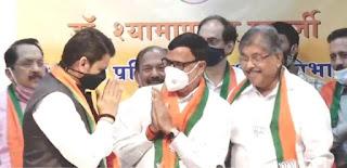 कृपाशंकर सिंह के शामिल होने से भाजपा के ' एकला चलो ' को मिली ताकत    #NayaSaberaNetwork