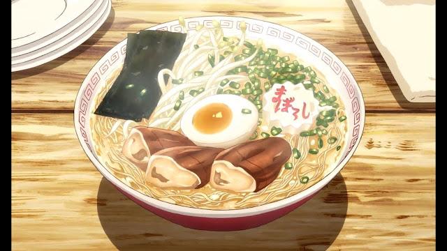 anime food Ramen
