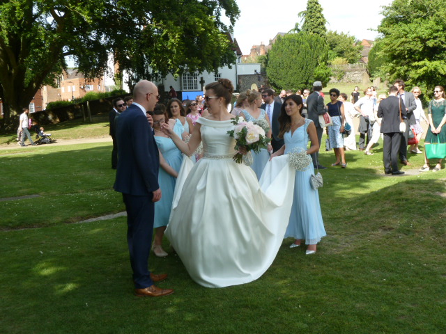 Wedding: A Joyous Walk To The Pub