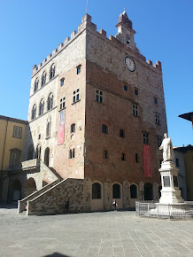 The Palazzo Pretorio is one of a  several important buildings in Prato