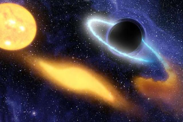 ¿Podría un agujero negro supermasivo ser el culpable de las explosiones?