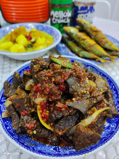Resepi Paru Goreng Berlado Yang Sedap By Azie Kitchen