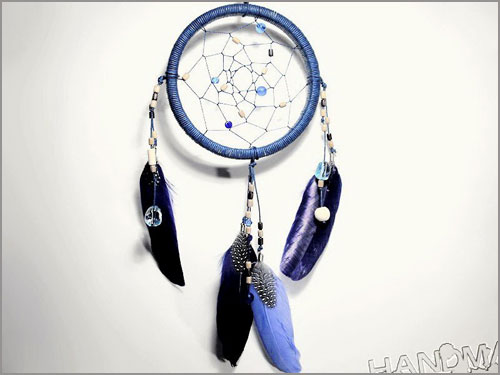 how to make a dreamcatcher easy step by step