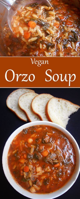 Orzo Soup Recipe (Vegan)