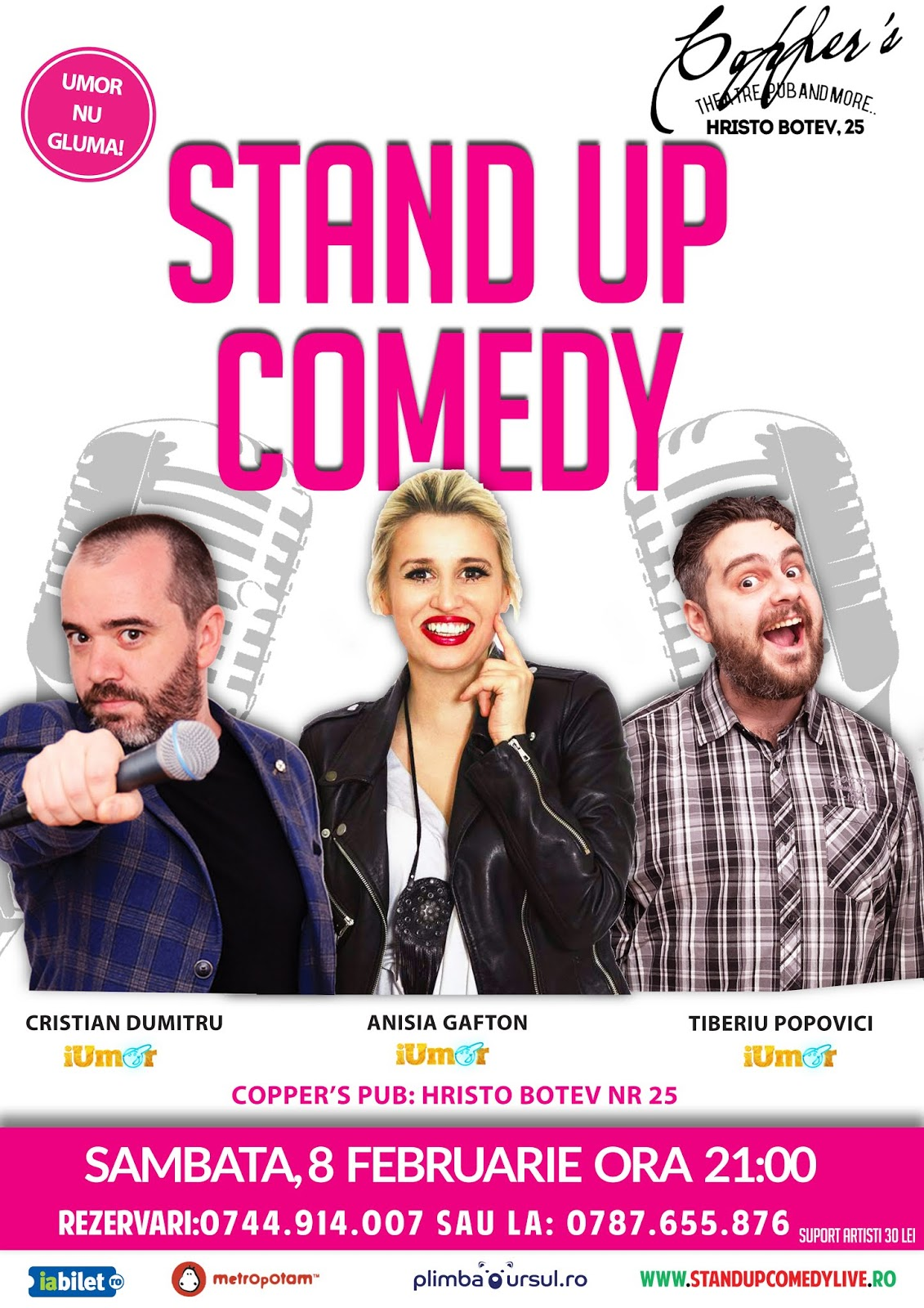 Stand Up Comedy 2020 in Bucuresti