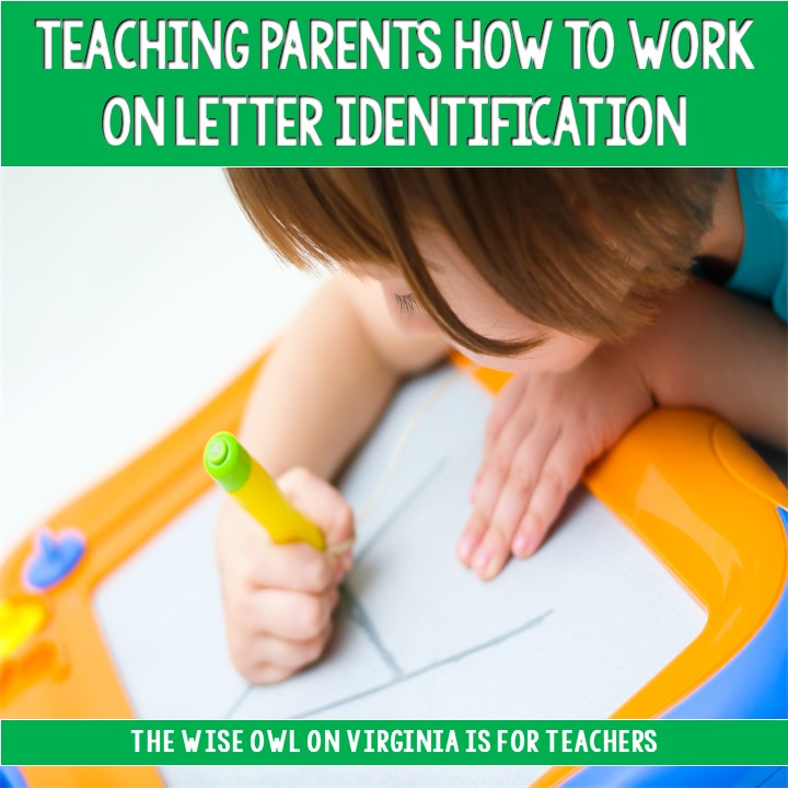 Letter identification is an important first skill for emergent readers. In this post, a parental involvement event is shared which will help your youngest learners.