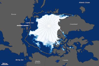 Aumento ghiaccio artico: dopo settembre cresce