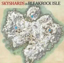 Bleakrock Isle Skyshards, Elder Scrolls Online,Ebonheart Pact,