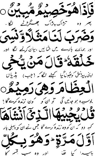 surah yaseen pdf