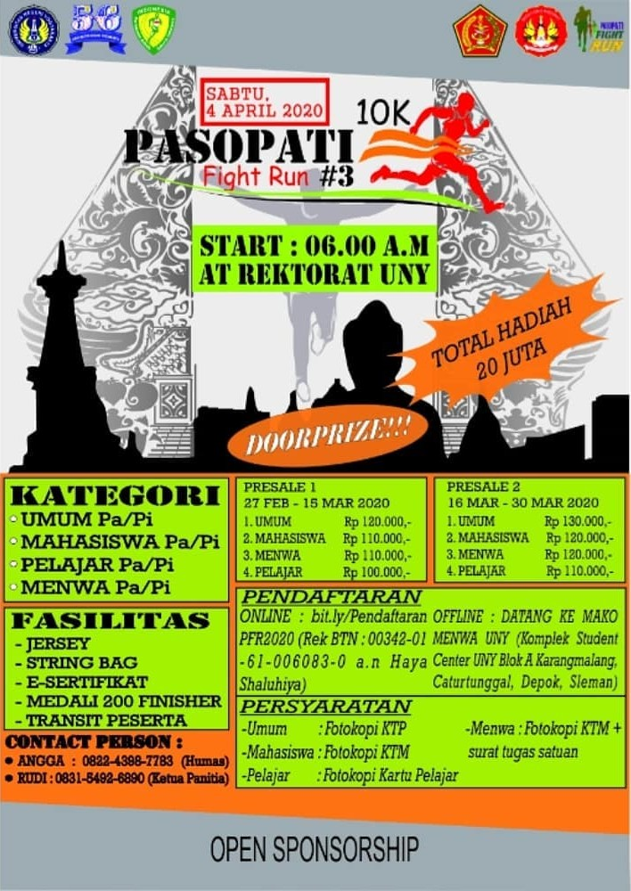 Pasopati Fight Run • 2020