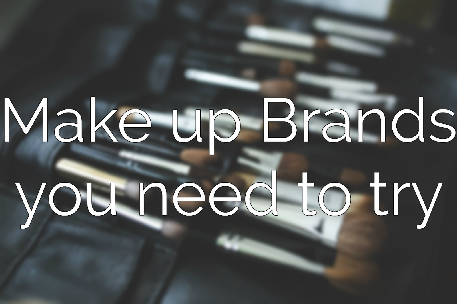 Make up brands - first impressions - make up - beauty - bellapierre - essence - freedom - Jane Iredale - Make up - Wunder2